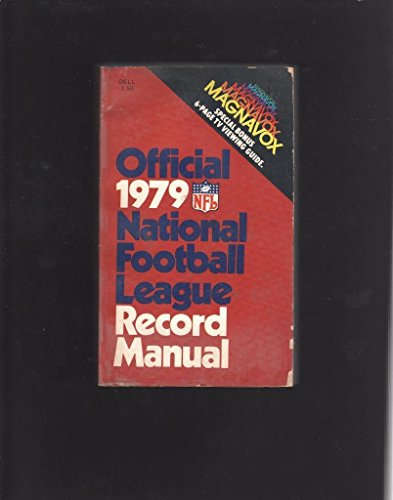 OFFICIAL 1979 NATIONAL FOOTBALL LEAGUE RECORD MANUAL PAPERBACK BOOK