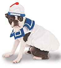 Ghostbusters Movie Pet Costume, Small, Stay-Puft Marshmallow Man