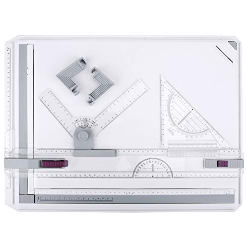Image of Drawing Board, HandsEase A3 Drawing Table Board Multi-Funtion Graphic Architectural