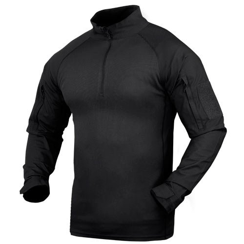 (Condor Combat Shirt, Black (Large))