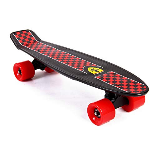 Ferrari Mini Cruiser Skateboard, Micro Nickel Banana Board