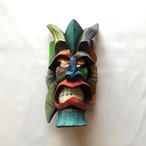 Boruca Mask, Costa Rica, EcoDiablo, Diablo, Devil, Demon, handmade, Brunka Mask, Ceremonial Mask, Cultural Mask, Wood Carved Mask, Costa Rican Masks, Tribal Art, Ecological Masks, handcraft. - Masks Costa Rica