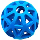 Comhome Pets Puppy Hol-ee Roller Chew Ball Dog Toys - Durable Non-toxic Natural Rubber Treat Dispense Holder forSmall Medium Dogs,2 3/4 Inch