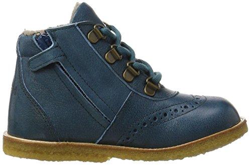 Bisgaard Unisex-Kinder Schnürschuhe Stiefel Grün (1003-1 Petrolio)