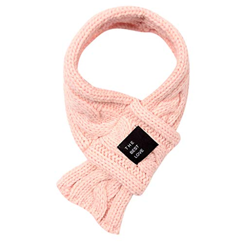 Cross Crochet (Warm Scarf for Women, Attlee Winter Women Lady Warm Fashion Knit Cross Solid Crochet Scarf Neckerchief)