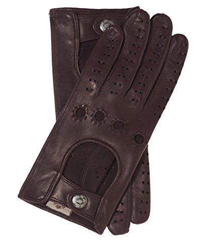 Fratelli Orsini Women's Italian Leather Driving Gloves Size 6 1/2 Color Cordovan by Fratelli Orsini