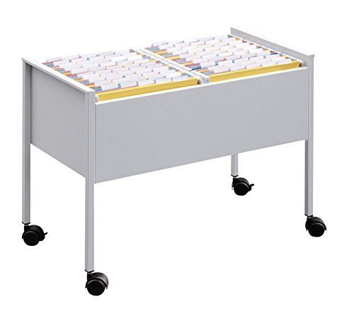 Durable Economy Suspension File Trolley - Black/Grey by Durable