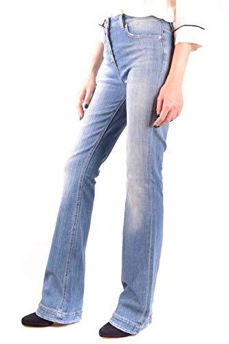Elisabetta Azul Mujer Franchi Mcbi35997 Jeans Algodon rwgr1x7