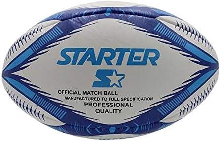 Starter 0003005 Balón Rugby Heavy, Blanco, S: Amazon.es: Deportes ...