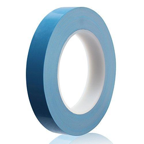 ceatech 20mm x 25m Cinta calcomanía de doble cara cinta refrigeración profesional (conductiva térmica para disipador...