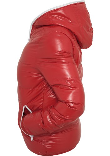 Classics Ladies Urban Shiny Bubble Jacket Rosso bianco xBosChtdQr