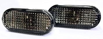 Seitenblinker Schwarz Oval Links Rechts Set E Prüfzeichen Eintragungsfrei Mit Adaptern Auto
