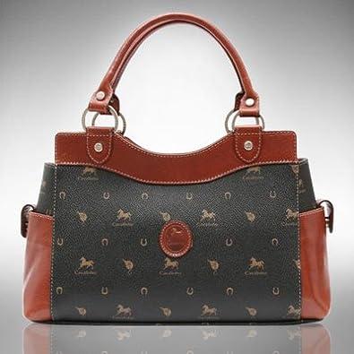 6537dc5d872 Lovely4bags Cavalinho (908-3) Women s Designer Brown Handbag  Amazon.co.uk   Shoes   Bags