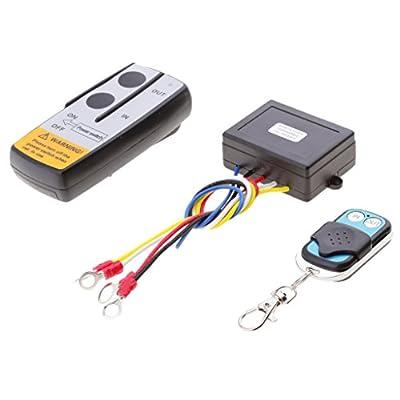 Homyl KLS-205/2 Wireless Remote Control System for 12 Volt Car UTV ATV SUV Winch