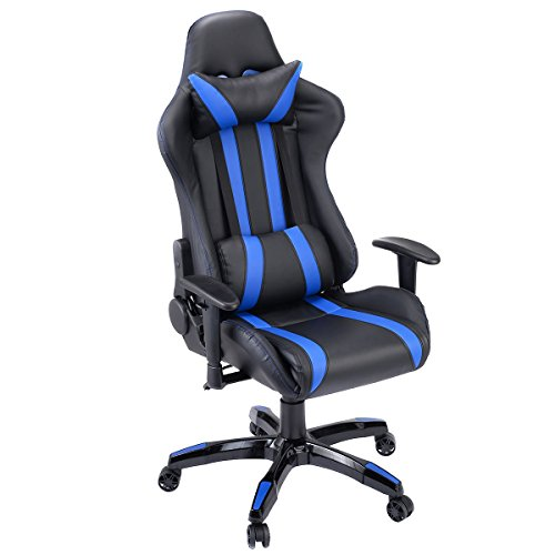 413qwm5l7eL - Giantex Executive Racing Style High Back Reclining Chair Gaming Chair Office Computer