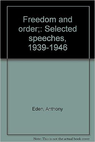 order of speeches