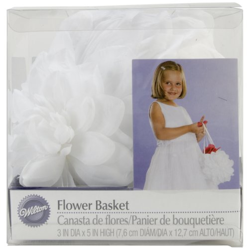 Wilton 120-1050 Wedding Day Collection Gardenia Flower Basket