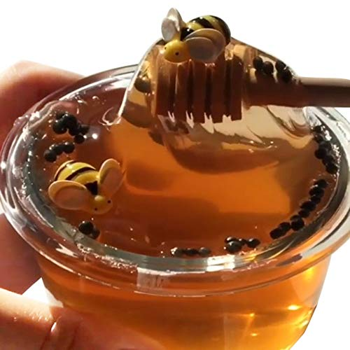 (Hot Sale!DEESEE(TM)60ML Honeybee Mixing Cloud Slime Putty Scented Stress Kids Clay)