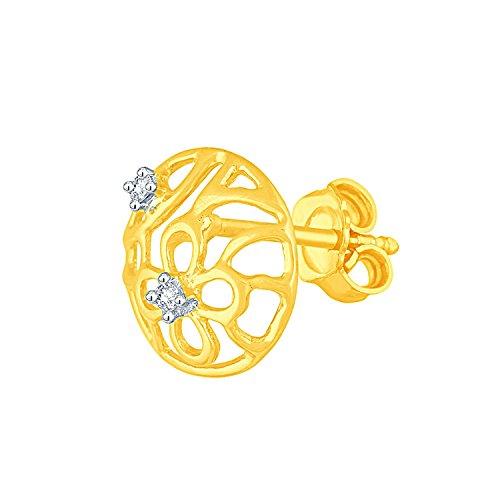 Giantti Diamant Mode Femme Boucles d'oreilles à tige (0.032CT, VS Clarté, Gh-colour)
