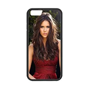 iPhone 6 4.7 Inch Cell Phone Case Black hb86 nina dobrev actress cute Mnjcm