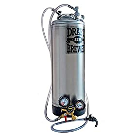 Draft Brewer Single Homebrew Kegging System with N...