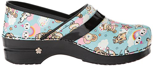 Women's Koi Dulce Clog Sanita Blue Light 0wOTxxdq
