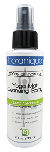 Yoga Mat Cleansing Spray Kit By Botanique 100 All