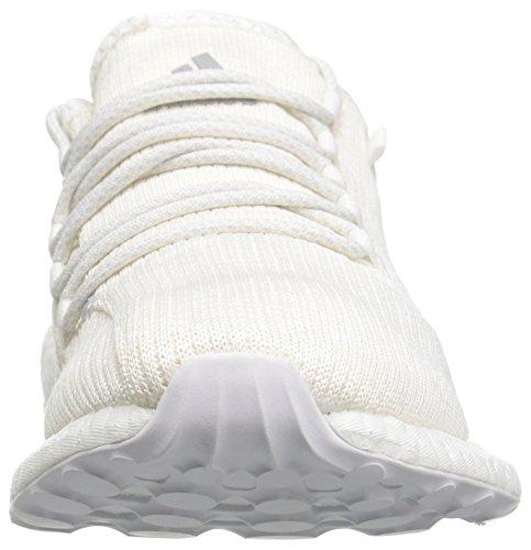 Adidas Performance Mens Pureboost Clima Löparskor Vit / Klar Grå / Krita Vit