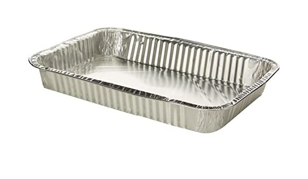 Óptimas bandejas aluminio. 6 porciones. 2 unidades: Amazon.es: Alimentación y bebidas