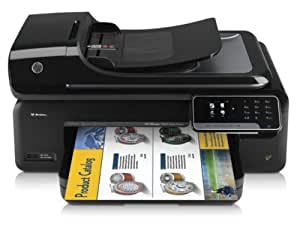 HP Multifuncional HP Officejet 7500A A3+ con conexión web - Impresora multifunción (De inyección de tinta, 200 páginas por mes, 10 ppm, 7 ppm, 33 ppm, Hasta 1200 ppp optimizados con entradas desde 600 ppp)