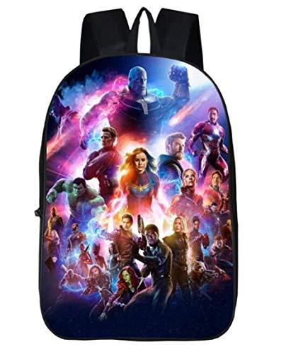 Movie School Bags Super Heros Backpack for