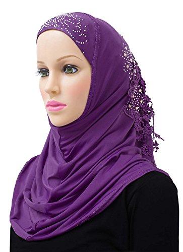 Hijab Lena Amour 1 piece Amira Headscarf Ultra-Silky Lycra - East Mall