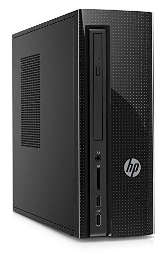HP Slimline 260-p026 Desktop PC, Intel Core i3, 8GB Memory, 1TB Hard Drive, Windows (Hp Desktop 8gb Ram)