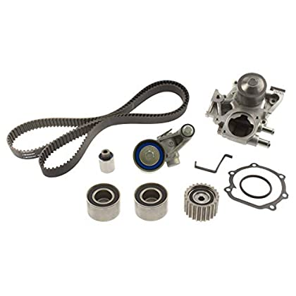 Image of Aisin TKF-005 Engine Timing Belt Kit with New Water Pump Timing Belt Kits