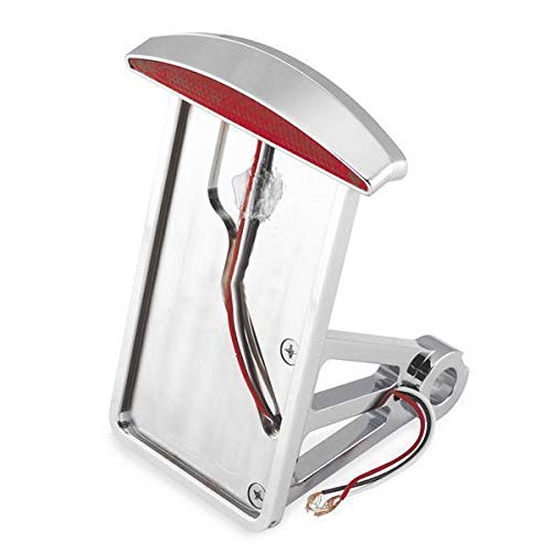 Bikers Choice垂直スリムキャットアイl.e.d.ライセンスプレートフレーム   B000GZTJHO
