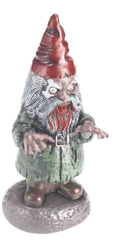 Forum Novelties Halloween Horror Zombie Garden Gnome (Scary Outdoor Halloween Decorations)