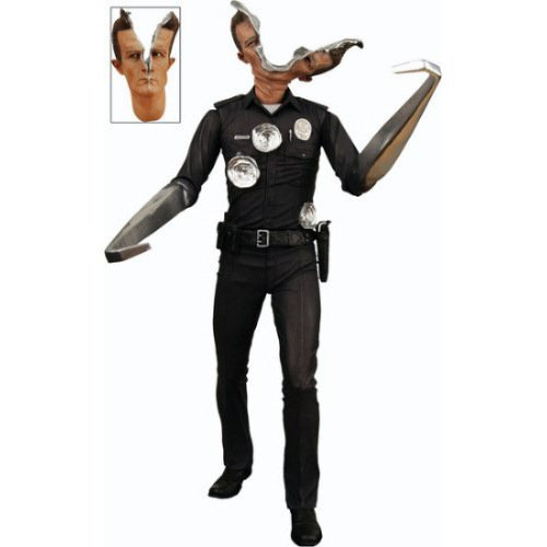 718cm NECA The Terminator 2 Action Figure T-1000 Pescadero Hospital Figure Toy Model TT012