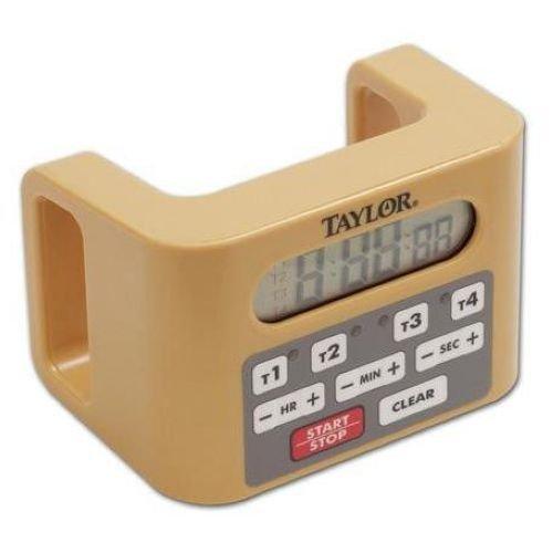 [해외]Taylor Instruments Four Event Clock Digital Antimicrobial Timer - 2 per case. / Taylor Instruments Four Event Clock Digital Antimicrobial Timer - 2 per case.