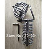 NEW cage is 11cm chastity stainless steel chastity with catheter urethral sounds dilator - sounds - catheters - Sex Products