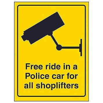 V Safety 6E075 señal de CCTV, 6E075: Amazon.es: Bricolaje y ...