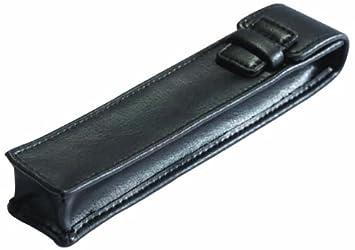 Cescahide - Funda para bolígrafo (cuero), color negro