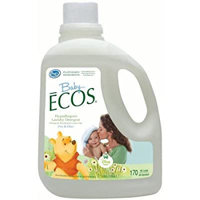 PACK OF 3 - ECOS Baby Liquid Laundry Detergent, Free