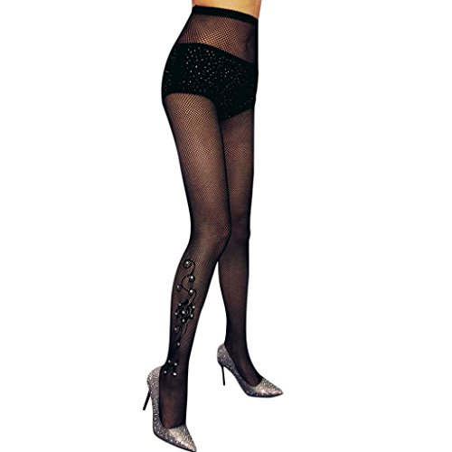 Women's Tights,Lavany Sexy Classic Net Fishnet Diamonds Hallow out Tights Stockings Bodystockings for Women Girls (C) ()