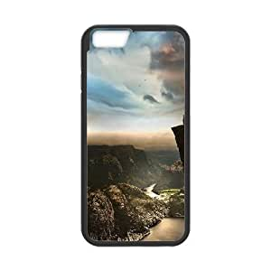 Edge Of The World Norway iPhone 6 Plus 5.5 Inch Cell Phone Case Black Protect your phone BVS_772574