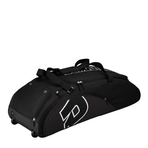 DeMarini Vendetta Bag on Wheels, Black