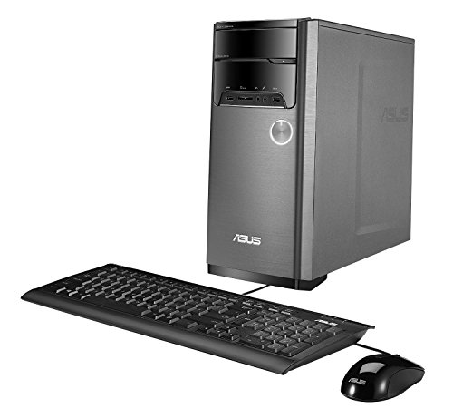 ASUS M32AD Desktop (Core i3, 8GB DDR3, 1TB, Windows 10) with Keyboard and Mouse