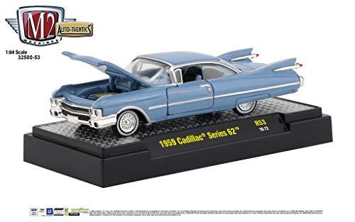 M2 Machines Auto Thentics 1:64 1959 Cadillac Series 62 R53 (Series Cadillac 64)