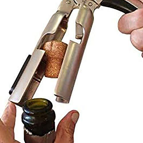 Haudang Champagne Bottle Opener Sparkling Wine Cork Puller for Sparkling Wine, Wine Bottle Opener, Wine Cork Puller