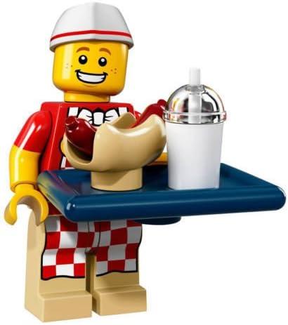 NEW Hot Dog Vendor LEGO 71018 The Lego Series 17 Minifigures