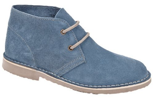 Roamer Women's L777CS Desert Boots 7 UK Denim Blue